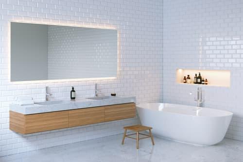 How do I choose a bathroom floor tile